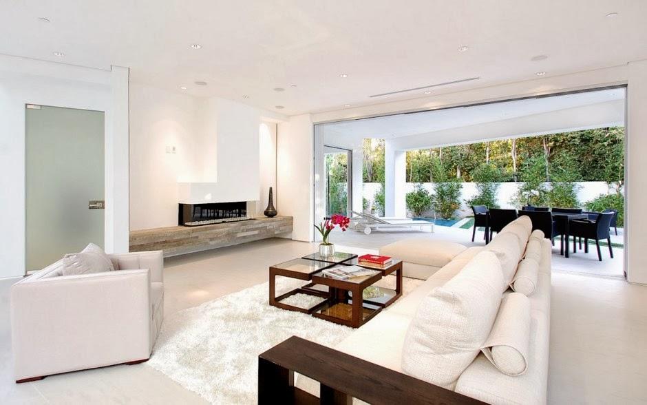 Dise o interior casa mansfield por amit apel design for Empresa diseno de interiores