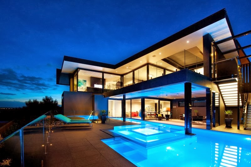 Casa wandana por james deans associates arquitexs for Casa moderna con piscina