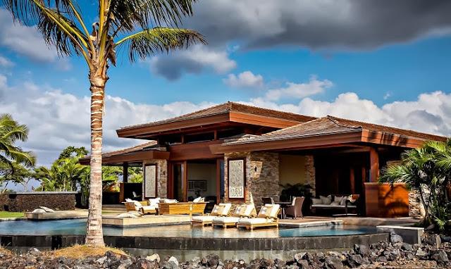 Casa de lujo estilo balin s en kailua kona hawaii arquitexs - Casas modulares de lujo ...