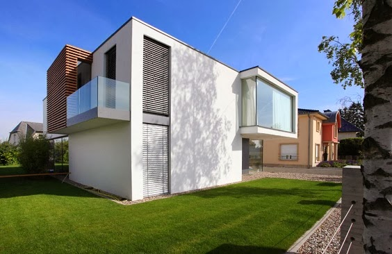 casa moderna en luxemburgo por n lab architects arquitexs