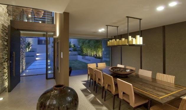 Interiores de casas modernas comedor - Casas modernas interiores ...