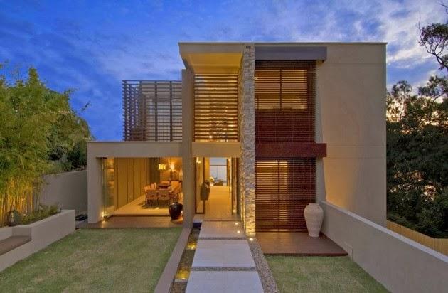 fachada-casa-moderna-Bruce-Stafford-Architects