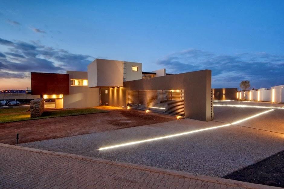 El lujo en acero y piedra casa boz nico van der meulen - Casas de lujo por dentro y por fuera ...