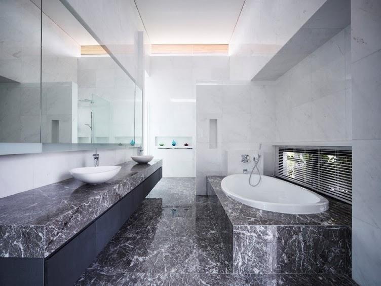 baño-marmol-negro