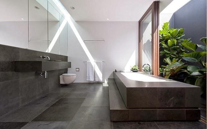 baño-piedra-negra