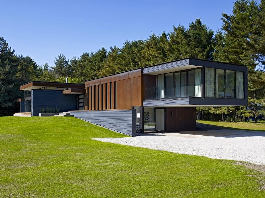casa-moderna-fachada-acero-corten-madera