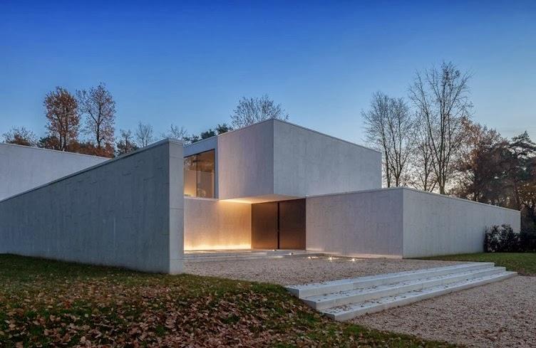 Arquitectura minimalista casa dm por cubyc architects for Imagenes de arquitectura minimalista