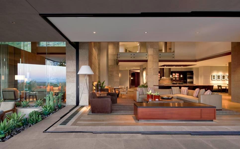Casa de lujo en paradise valley arizona por swaback - Casas de lujo modernas ...