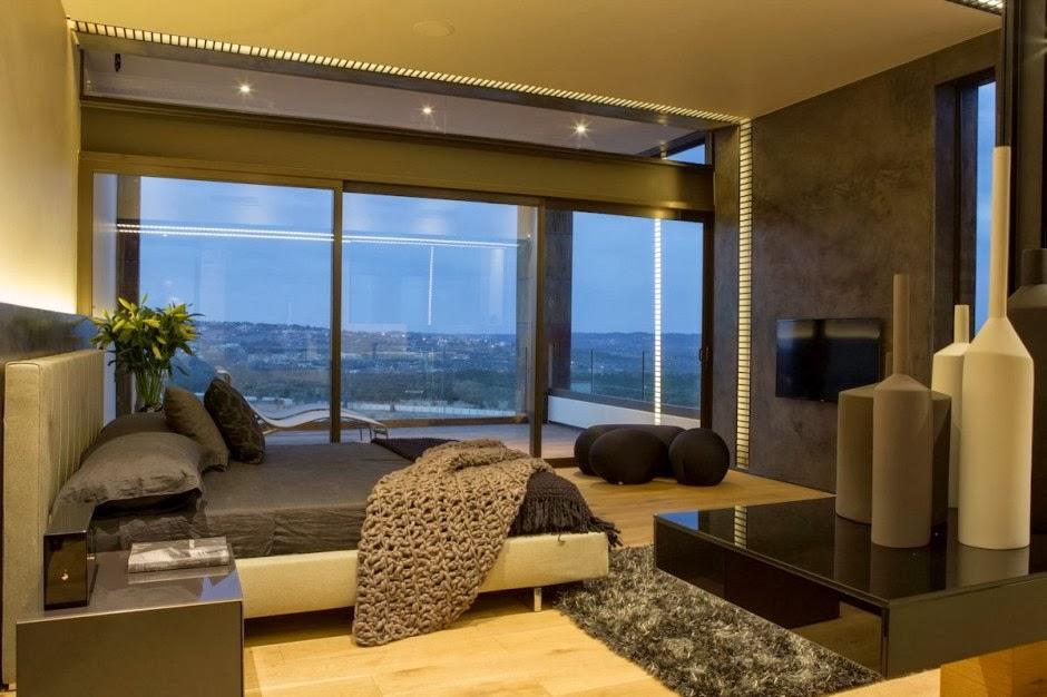 El lujo en acero y piedra casa boz nico van der meulen for Beautiful bedroom designs in south africa