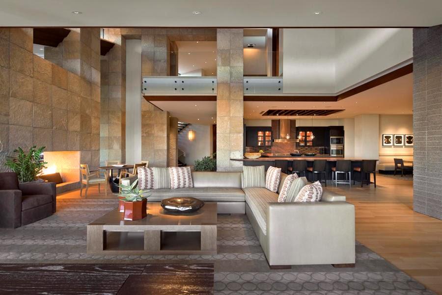 Casas De Decoracion En Miami ~ Casa de lujo en Paradise Valley, Arizona por Swaback Partners y David