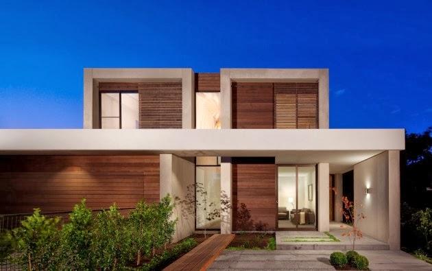 Casa brighton espacios amplios modernos inform - Arquitectura casas modernas ...