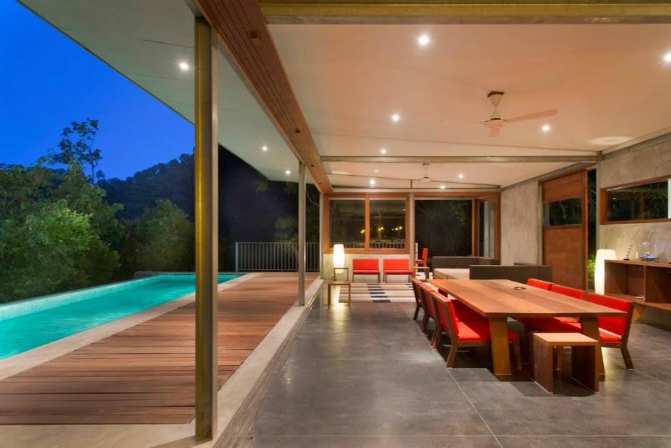 Casa Moderna Naked / Diseño de Marc Gerritsen, Tailandia. | ArQuitexs
