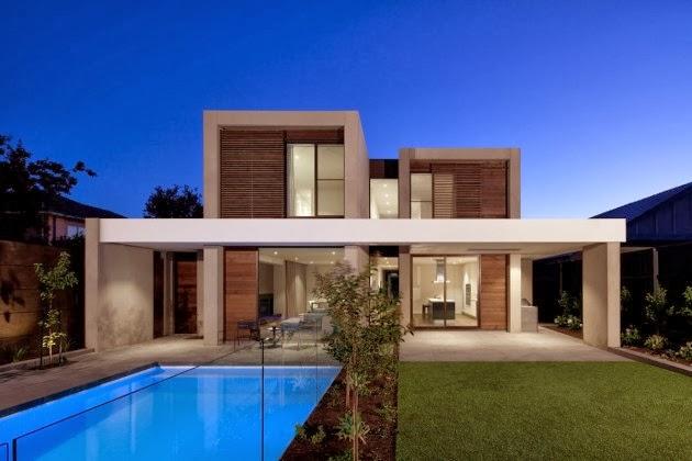 Casa brighton espacios amplios modernos inform - Fachadas arquitectura ...