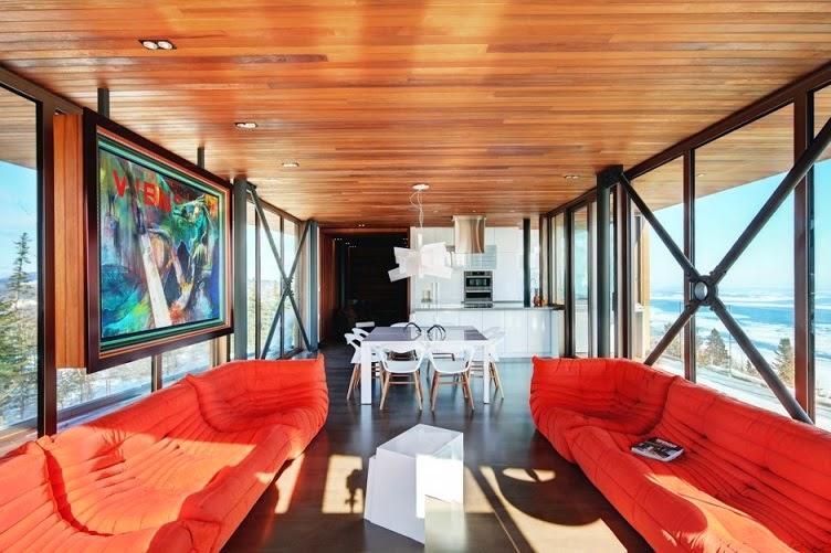 casa-acero-madera-cedro-rojo