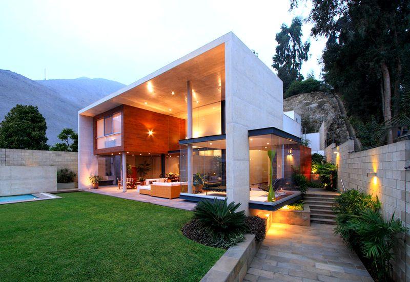 Arquitectura contempor nea casa s arquitecto domenack for Arquitectura contemporanea casas