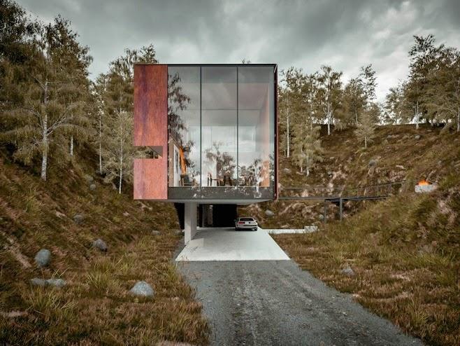 arquitectura-casa-moderna-acero-corten
