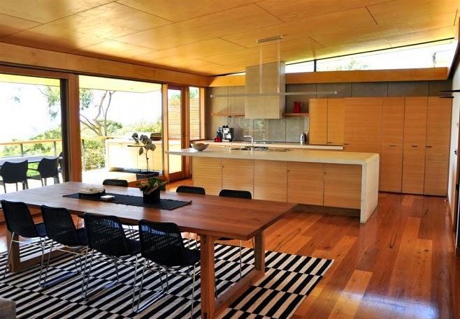 cocina-comedor-madera