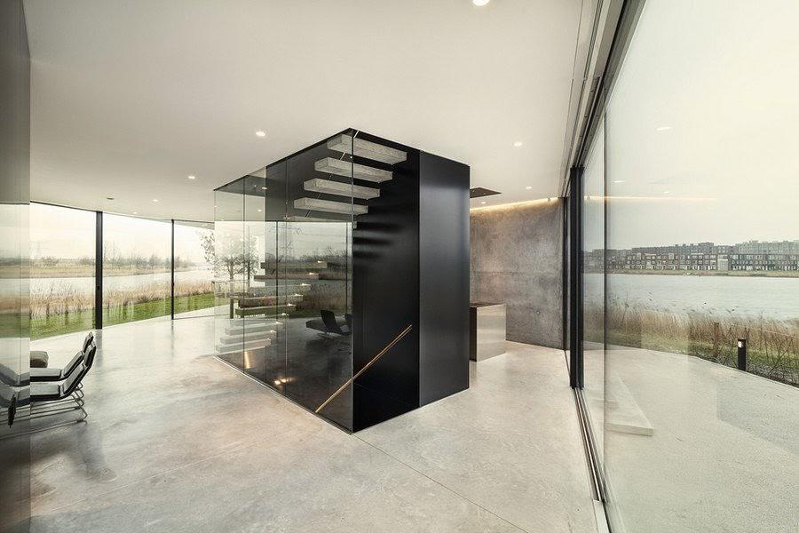 diseño-escaleras-hormigon-cristal