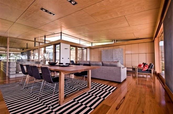 Casa citriodora dise o minimalista en madera seeley - Disenos de casas de madera ...