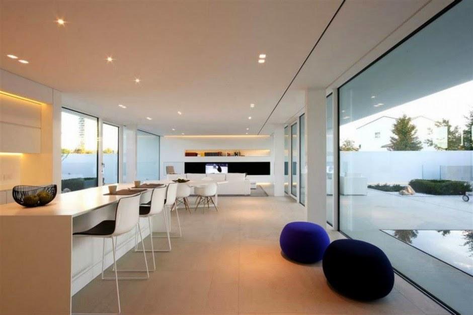 Interiores y exteriores de casas minimalistas taringa for Decoracion piso minimalista