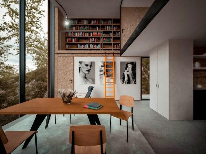 diseño-casa-moderna-Hyde+Hyde Architects