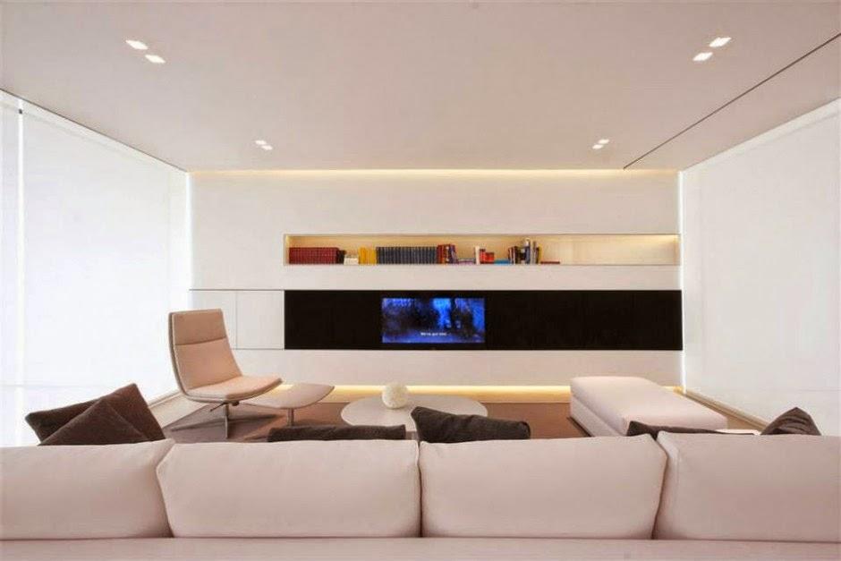 Villa dise o minimalista jesolo lido jm architecture - Salones de diseno minimalista ...