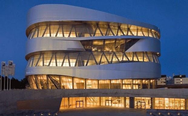 Arquitecto-Ben-Van-Berkel-Museo-Mercedes-Benz-Stuttgart-arquitectos contemporáneos y sus obras