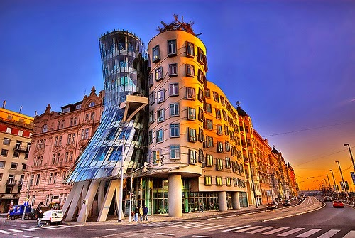 Casa Danzante Praga arquitectos contemporáneos más famosos
