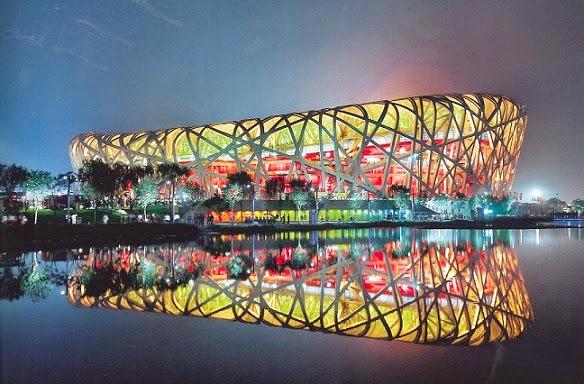 Estadio-Nacional-de-Pekin-Arquitectos-Herzog-de-Meuron-arquitectos contemporáneos