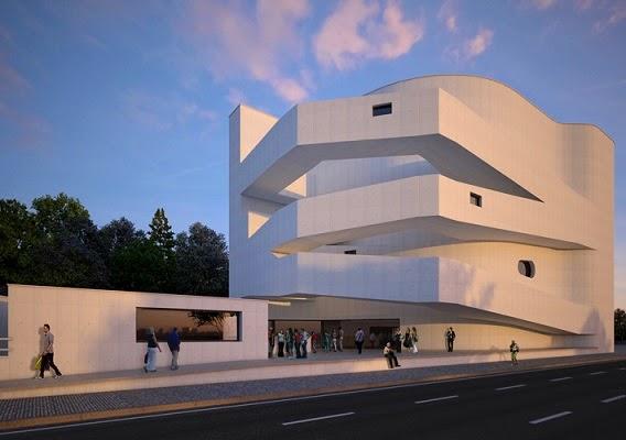 Fundacion-Ibere-Camargo-arquitecto-Alvaro-Siza-Porto-Alegre-arquitectos contemporáneos más famosos