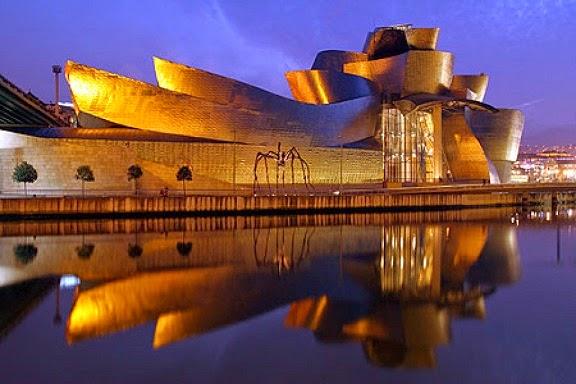 Museo-Guggenheim-Bilbao-Arquitecto-Frank-Owen-Gehry-arquitectos contemporáneos más famosos