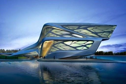 Performing-Arts-Centre-Abu-Dhabi-Arquitecto-Zaha-Hadid-arquitectos contemporáneos más famosos