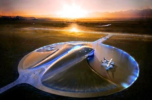 aeropuerto-Spaceport-America-de-Nuevo-Mexico-arquitecto-norman-foster-arquitecto contemporáneo