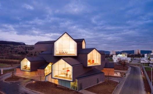 fabrica-VitraHaus-en-Basilea-Arquitectos-Herzog-de-Meuron-arquitectos contemporáneos