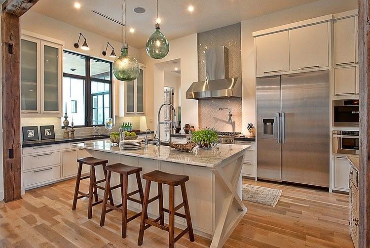 cocina-moderna-decoracion-rustica