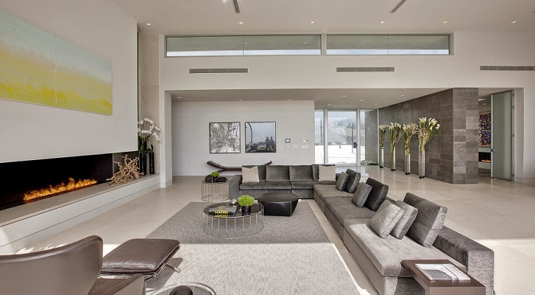 Casa minimalista beverly hills mcclean design california for Diseno de casas interiores fotos