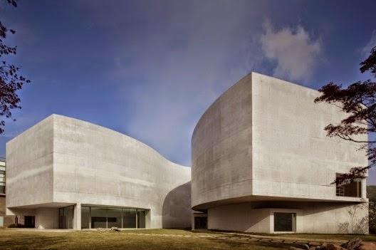 Museo Mimesi Korea del sur Arquitecto Álvaro Joaquim de Melo Siza arquitectos contemporáneos más famosos