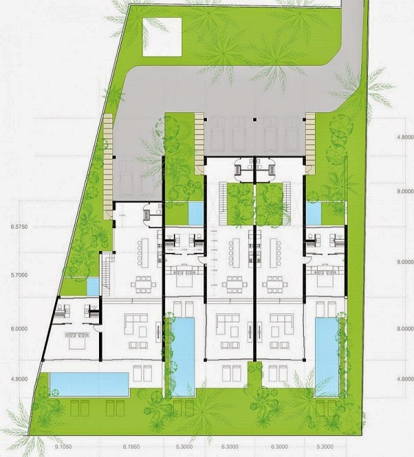 plano-Oceanique Villas / MM++ Architects