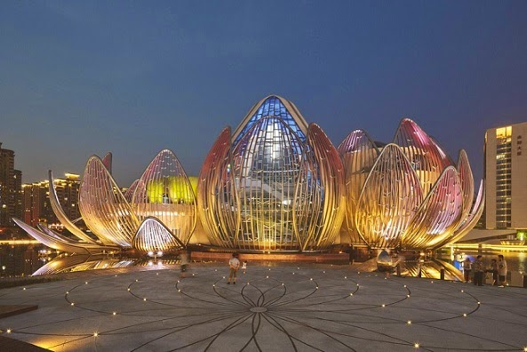 arquitectura-fachada-Edificio-Lotus-china