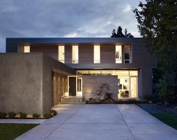 Casa moderna ocean park campos leckie studio vancouver for Departamentos arquitectura moderna