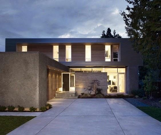Casa moderna ocean park campos leckie studio vancouver for Arquitectura contemporanea casas
