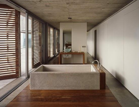 bañera-de-hormigon