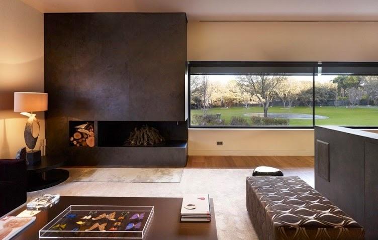 casa-diseño-interior-chimenea | ArQuitexs