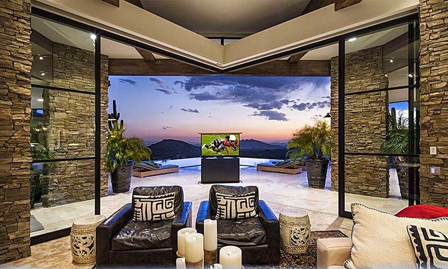 Desert mountain retreat architector scottsdale arizona for Casas modernas venezuela