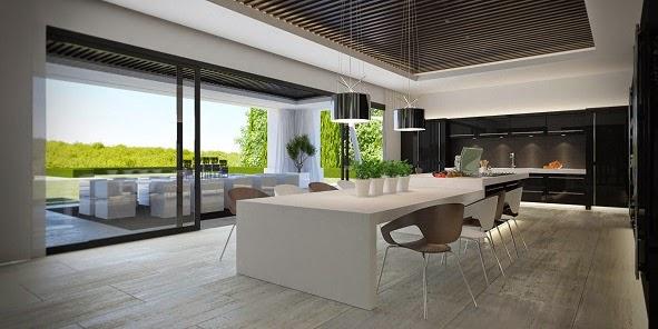Interiores de casas de lujo modernas - Casas modernas interior ...