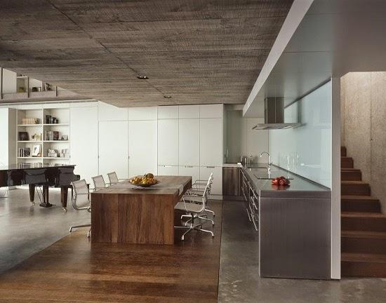 cocina-moderna-madera-hormigon