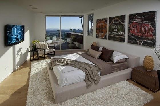 decoracion-habitacion-casa-Hollywood-Hills-Los-angeles-California