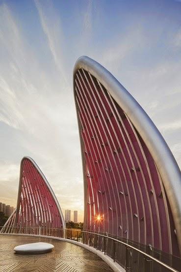 diseño-Edificio-Lotus-y-el-parque-Popular-china