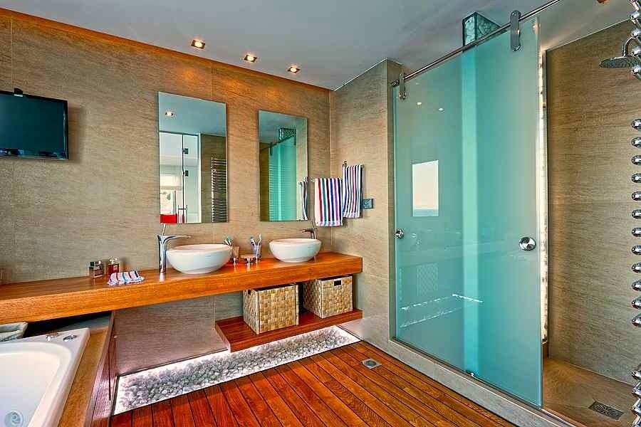 baño-Arquitectura-Casa-de-playa-en-isla-Creta