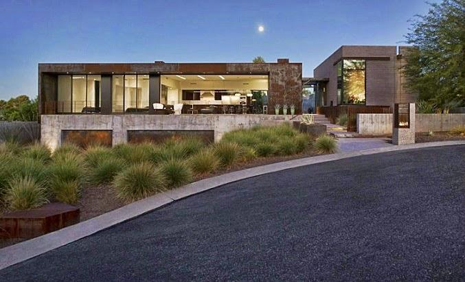 casa-moderna-fachadas-acero-corten